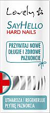 Parfumuri și produse cosmetice Balsam pentru unghii fragile - Lovely Say Hello Hard Nails