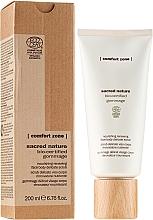 Parfumuri și produse cosmetice Scrub pentru față și corp - Comfort Zone Sacred Nature Bio-Certified Gommage