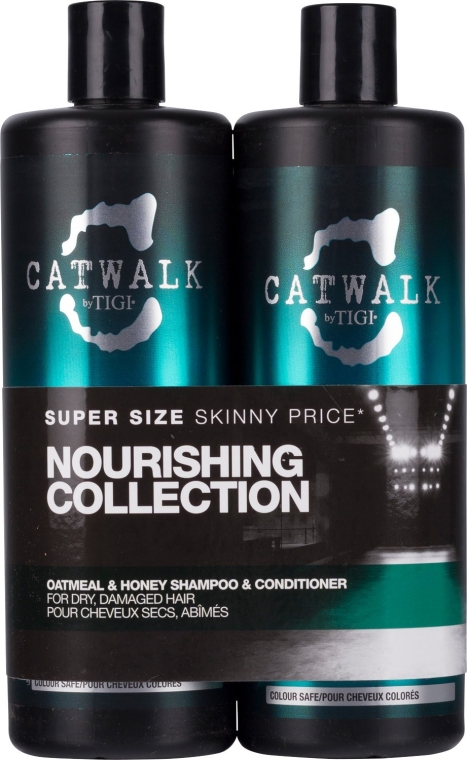 Set - Tigi Catwalk Oatmeal & Honey (shm/750ml + cond/750ml) — Imagine N1