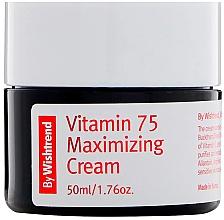 Parfumuri și produse cosmetice Cremă de vitamine cu extract de cătină pentru față - By Wishtrend Vitamin 75 Maximizing Cream