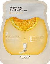 Parfumuri și produse cosmetice Mască de țesut pentru față - Frudia Brightening Citrus Mask