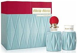 Parfumuri și produse cosmetice Miu Miu Miu Miu - Set (edp/100ml + b/lot/100ml)