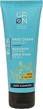 Parfumuri și produse cosmetice Cremă hidratantă de mâini - GRN Alga & Sea Salt Hand Cream