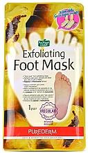 Parfumuri și produse cosmetice Șosete peeling pentru picioare - Purederm Exfoliating Foot Mask