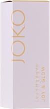 Parfumuri și produse cosmetice Iluminator lichid - Joko Joy & Glow Liquid Highlighter