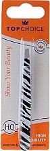 Parfumuri și produse cosmetice Pensetă pentru sprâncene, 75957, alb-negru - Top Choice