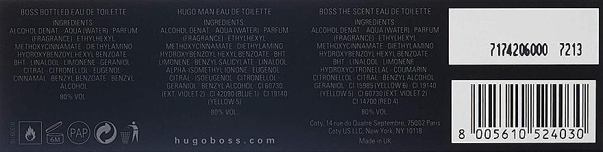 Hugo Boss Collectible Miniatures Set - Set (edt/mini/4*5ml) — Imagine N4
