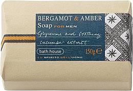 Parfumuri și produse cosmetice Bath House Bergamot & Amber - Săpun