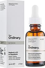 Parfumuri și produse cosmetice Ser facial cu retinol 0,2% în squalane - The Ordinary Retinoids Retinol 0.2% In Squalane