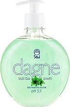 """Parfumuri și produse cosmetice Săpun lichid """"Ceai verde"""" - Seal Cosmetics Dagne Liquid Soap"""