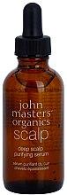 Parfumuri și produse cosmetice Ser de curățare profundă a scalpului - John Masters Organics Deep Scalp Purifying Serum