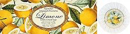 """Parfumuri și produse cosmetice Set săpunuri """"Lămâie"""" - Saponificio Artigianale Fiorentino Lemon Soap"""
