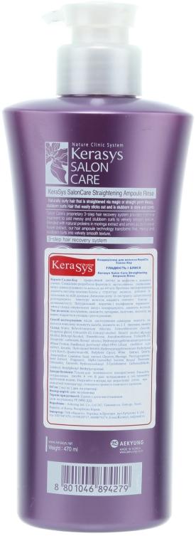 """Balsam de păr """"Îndreptare"""" - KeraSys Hair Clinic Salon Care — Imagine N2"""