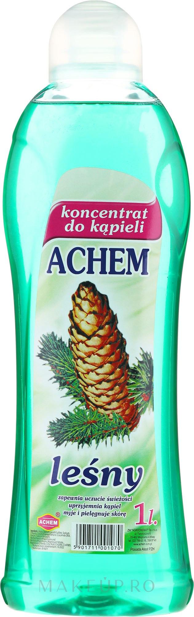 """Concentrat de baie """"Fructe de pădure"""" - Achem Concentrated Bubble Bath Forest — Imagine 1000 ml"""