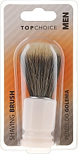 Parfumuri și produse cosmetice Perie pentru bărbierit, 30321 - Top Choice