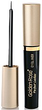 Parfumuri și produse cosmetice Eyeliner - Golden Rose Perfect Lashes Black EyeLiner