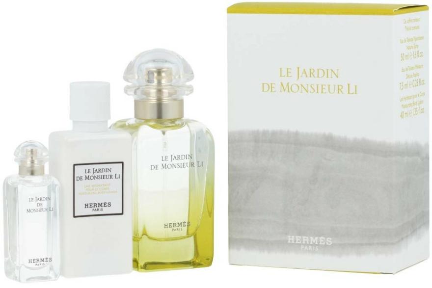 Hermes Le Jardin de Monsieur Li - Set (edt/50ml + b/lot/40ml + edt/7.5ml) — Imagine N1