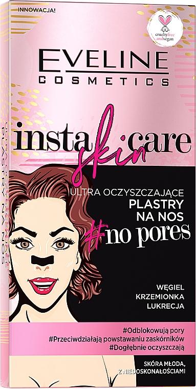 Benzi de curățare pentru nas - Eveline Cosmetics Insta Skin Care #No Pores
