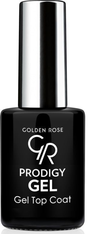 Finish de unghii - Golden Rose Prodigy Gel Top Coat — Imagine N1