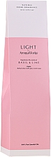 "Parfumuri și produse cosmetice Difuzor aromatic ""Busuioc și Lime"" - AromaWorks Light Range Reed Diffuser"