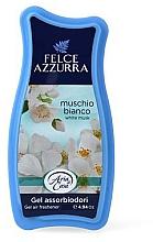 Parfumuri și produse cosmetice Odorizant gel - Felce Azzurra Gel Air Freshener White Musk
