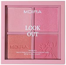 Parfumuri și produse cosmetice Paletă de machiaj - Moira Look Out Palette