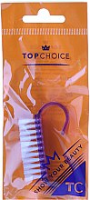 Parfumuri și produse cosmetice Perie pentru unghii, mov, 2984 - Top Choice