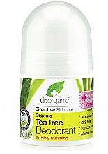 """Parfumuri și produse cosmetice Deodorant """"Arbore de ceai"""" - Dr. Organic Bioactive Skincare Tea Tree Roll-On Deodorant"""