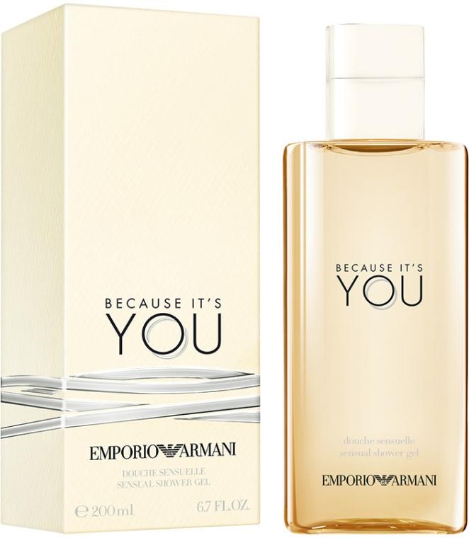 Giorgio Armani Because It's You - Gel de duș — Imagine N1