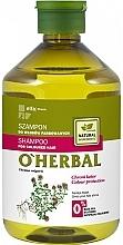 Parfumuri și produse cosmetice Șampon pentru păr vopsit cu extract de cimbru - O'Herbal
