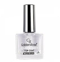 Parfumuri și produse cosmetice Gel de unghii pentru acoperirea superioară a lacului - Golden Rose Quick Dry Top Coat