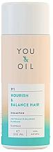 "Parfumuri și produse cosmetice Șampon ""Nutriție și Echilibru"" - You & Oil Nourish & Balance Hair Shampoo"