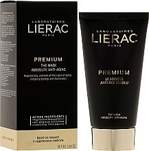 Parfumuri și produse cosmetice Mască de față - Lierac Premium Supreme Mask