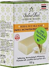 Parfumuri și produse cosmetice Săpun cu extract de orez - Sabai Thai Herbal Rice Milk Soap