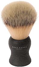 Parfumuri și produse cosmetice Pămătuf de ras - Acca Kappa Shaving Brush Natural Style Nero