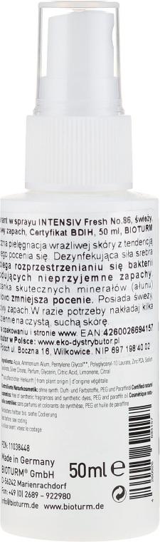 "Deodorant spray ""Freshness"" - Bioturm Silber-Deo Intensiv Fresh Spray No.86 — Imagine N2"