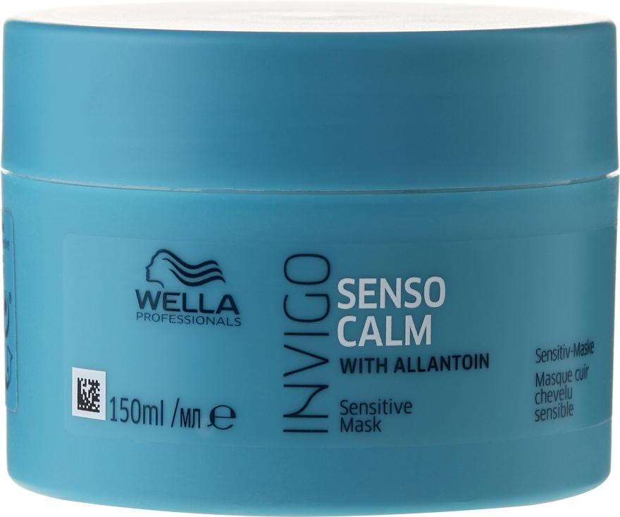 Mască pentru scalp sensibil - Wella Professionals Invigo Balance Senso Calm Sensitive Mask