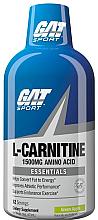 Parfumuri și produse cosmetice L-Carnitină lichidă 1500, mere verzi - GAT Sport L-Carnitine Amino Acid Green Apple