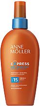 Parfumuri și produse cosmetice Spray cu protecție solară pentru bronz intensiv - Anne Moller Express Sunscreen Body Spray SPF15
