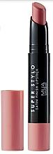 Parfumuri și produse cosmetice Ruj de satin pentru buze - MUA Academy Super Stylo Satin Finish Lipstick