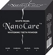 Parfumuri și produse cosmetice Praf pentru albirea dinților - VitalCare White Pearl NanoCare Charcoal Teeth Powder