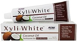 Parfumuri și produse cosmetice Pastă de dinți cu ulei de cocos - Now Foods XyliWhite Coconut Oil Toothpaste Gel