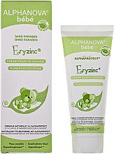 Parfumuri și produse cosmetice Cremă sub scutec împotriva iritației - Alphanova Baby Natural Eryzinc Nappy Rash Cream