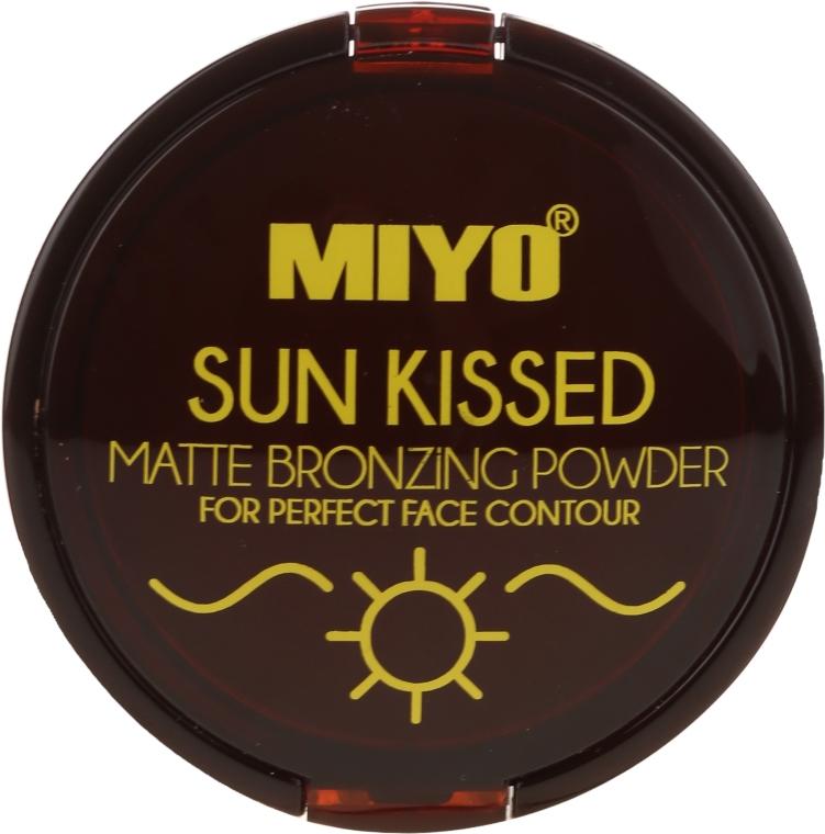 Pudră bronzantă - Miyo Sun Kissed Matt Bronzing Powder — Imagine N1