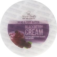 """Parfumuri și produse cosmetice Cremă de mâini și picioare """"Fructe de pădure"""" - Hristina Cosmetics Stani Chef's Blackberry Cream Hand & Foot Butter"""