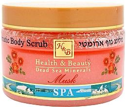 """Parfumuri și produse cosmetice Peeling aromat cu sare pentru corp """"Mosc"""" - Health and Beauty Aromatic Body Peeling"""
