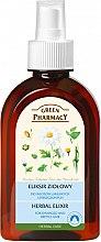 Parfumuri și produse cosmetice Elixir din plante pentru păr - Green Pharmacy