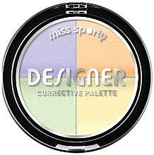 Parfumuri și produse cosmetice Corector pentru față - Miss Sporty Designer Corrective Palette (001-Light)
