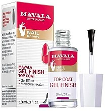 Parfumuri și produse cosmetice Top coat pentru oja semipermanentă - Mavala Top Coat Gel Finish