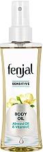 """Parfumuri și produse cosmetice Ulei de corp """"Migdale și Vitamina E"""" - Fenjal Sensitive Body Oil"""